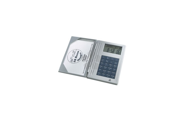 Pocket Calculator/Business Card Holder