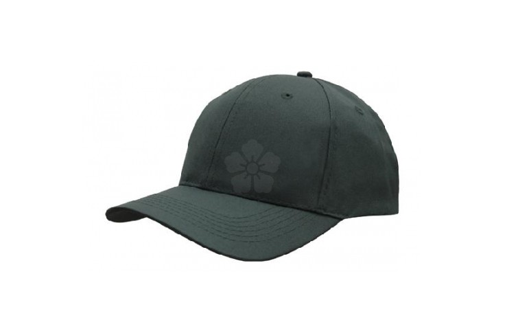 Poly Twill 6 Panel Baseball Cap
