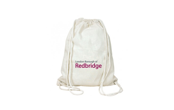 Premium Cotton Drawstring Bag