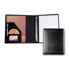 Premium Leather Ring Binder