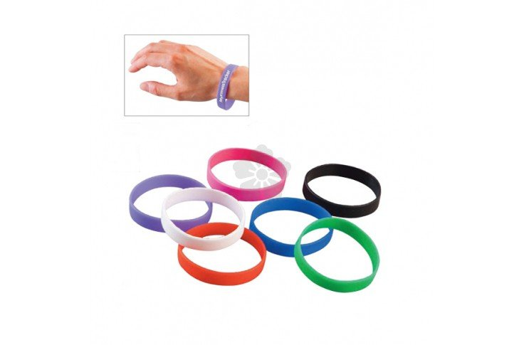 Printed Silicone Wristband - Express