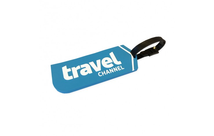 Moulded PVC Luggage Tag