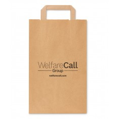 Medium Recycled Paper Carrier Bag