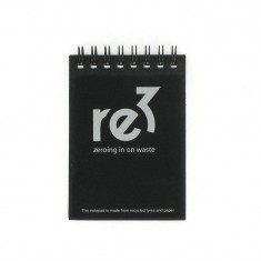 Recycled Tyre A7 Notepad