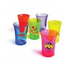 Reuseable Coloured Shot Glasses