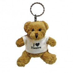 Robbie Bear Keyring with T Shirt