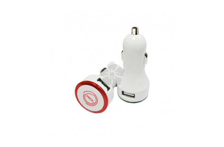 Round Dual Car Charger