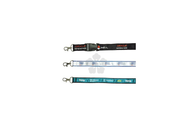 Satin Applique Lanyard