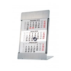 Stainless Steel Desk Calendar