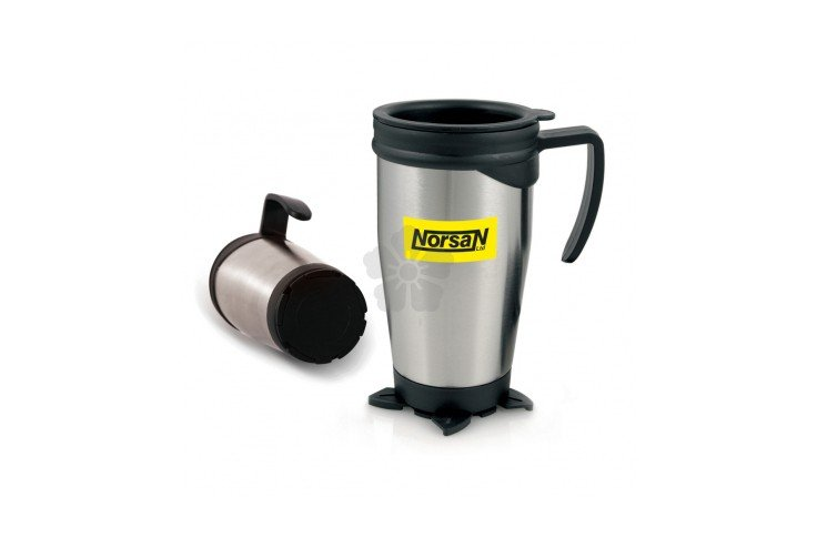 Stainless Steel Travel Mug with Base