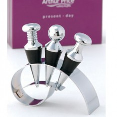 Trio Wine Stopper Set