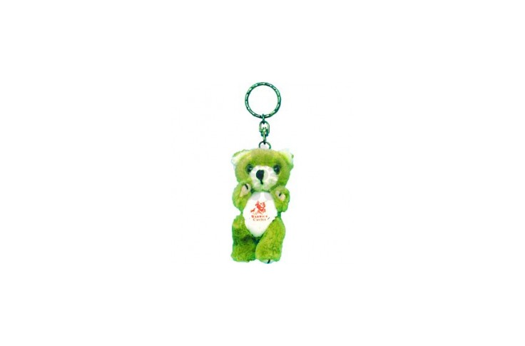 Two Tone Teddy Keyring