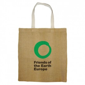 Unlaminated Jute Conference Bag