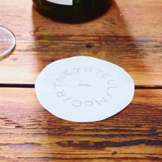 Wax Backed Tissue Coasters