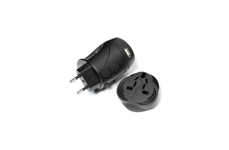 World Travel Adaptor with USB Charger