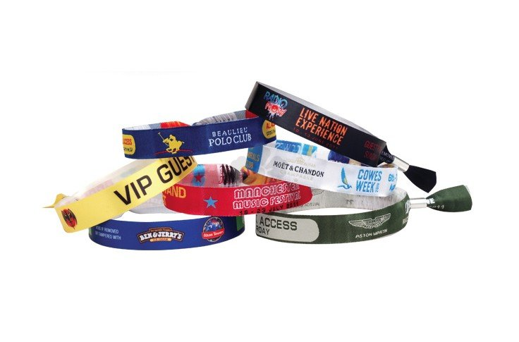 Woven Polyester Wristband