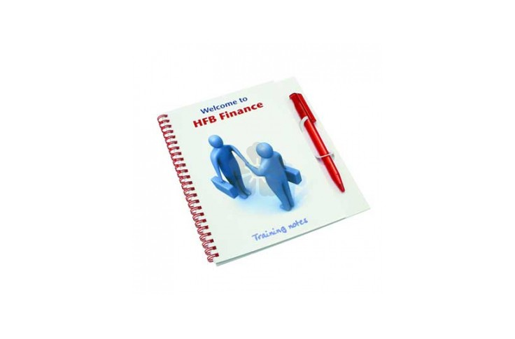 Wiro-Smart - A5 Poly Note Pad and Pen