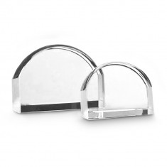 10cm Optical Crystal Magnifying Paperweight