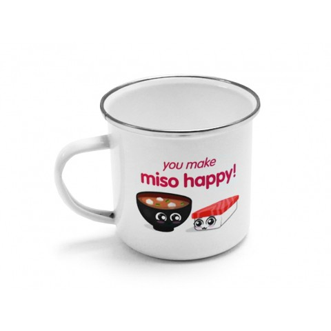 11oz Full Colour Enamel Mug
