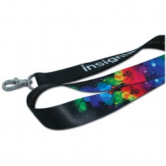 25mm Dye Sublimation HD Lanyard