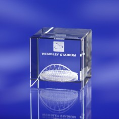 3D Engraved Paperweight