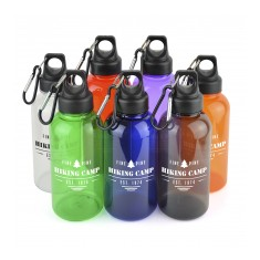 500ml Translucent Plastic Bottle
