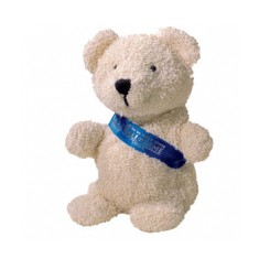 "5"" Beanie Bear with Sash"
