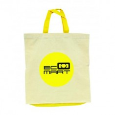 5oz Cotton Shopper with Coloured Trims