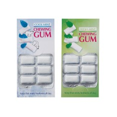6 Piece Chewing Gum Card