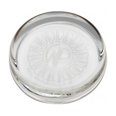 9cm Round Glass Paperweight