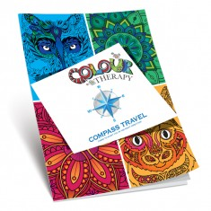 A4 8 Page Colouring Therapy Book