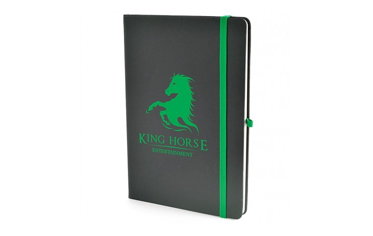 A5 Medium Croft Notebook - Colour Trim