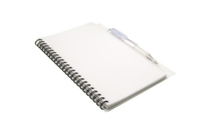 A5 Notebook with Matching Pen