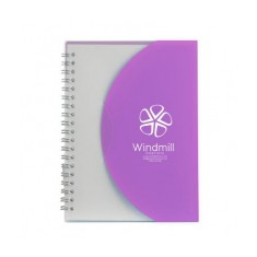 A6 Curve Notebook
