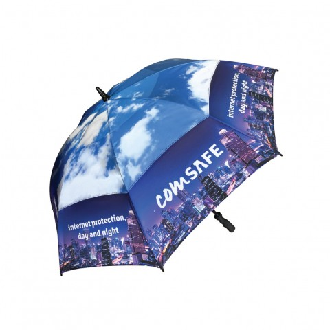Bespoke Spectrum Vented Golf Umbrella