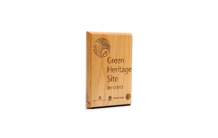 Bespoke Wooden Paperweight / Award