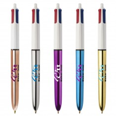 BIC 4 Colours Shine Ballpen