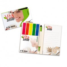 BIC Sticky Note Booklet with Digital Ballpen