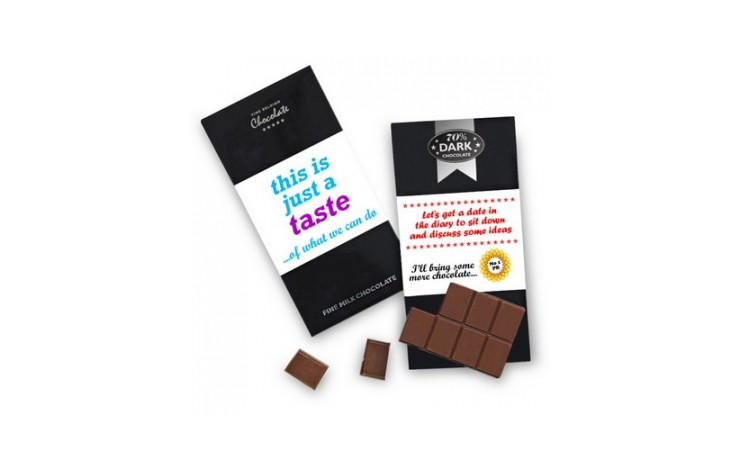 Branded Luxury Dark Chocolate Bar