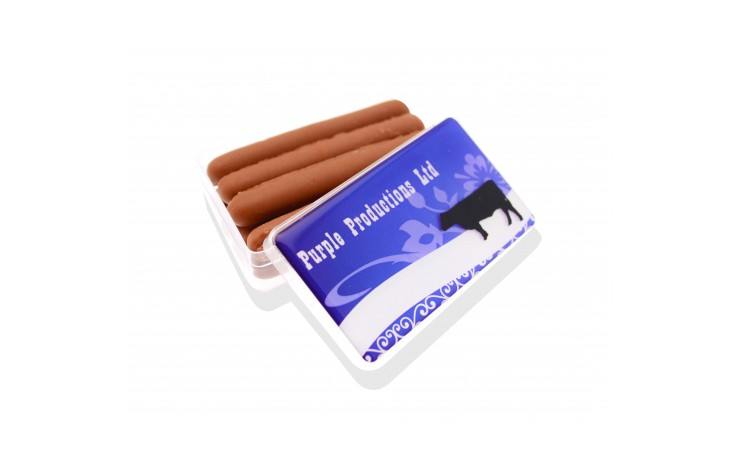 Cadbury Chocolate Fingers in Rectangular Pot