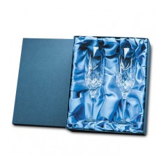 Champagne Flutes in Presentation Box