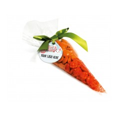 Chocolate Beanies Carrot Bag