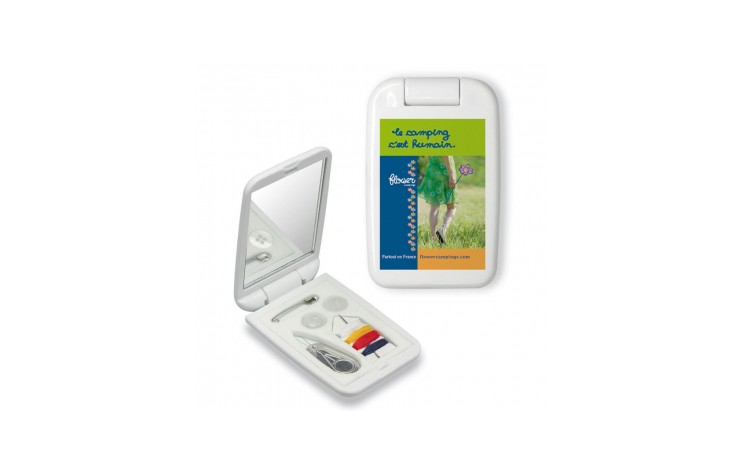 Colorama Sewing Kit and Mirror