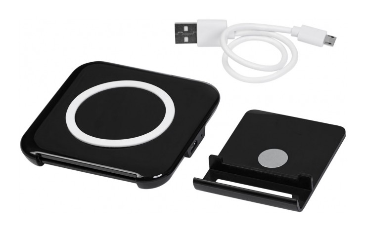 Compact Wireless Charger and Stand