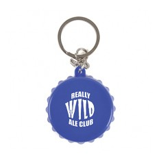 Crown Top Bottle Opener Keyring