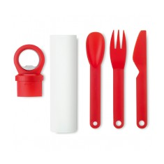 Cutlery Set with Bottle Opener