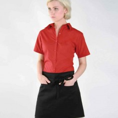 Dennys Short Apron with Pocket