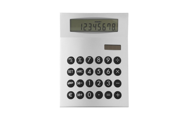 Dual Powered Desk Calculator