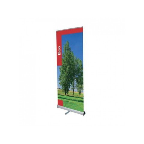 Eco Silver Roller Banner