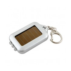 Eco Solar Powered Keyring Torch